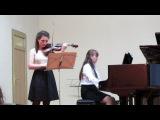 Л.Бетховен Соната№ 4 для скрипки и ф-но